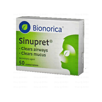 SINUPRET 50 Coated tablets Acute & Chronic Sinusitis UK STOCK FAST DISPATCH