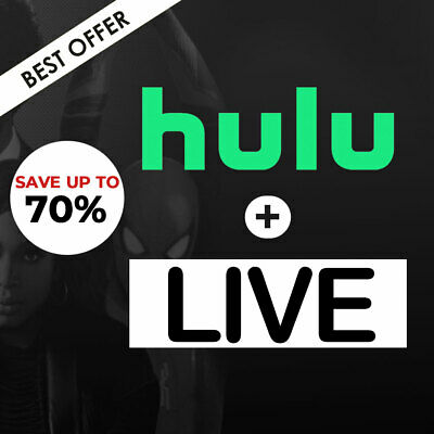 Hulu+ Live TV I Premium Account I 2 Year Access I Fast Delivery I Shared Account