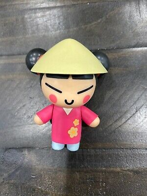 "Pucca 3"" Vinyl Figure Rare VOOZ Lotteria Korean Anime"
