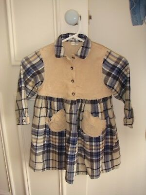 Girls Fred Bare winter Long sleeved dress size S