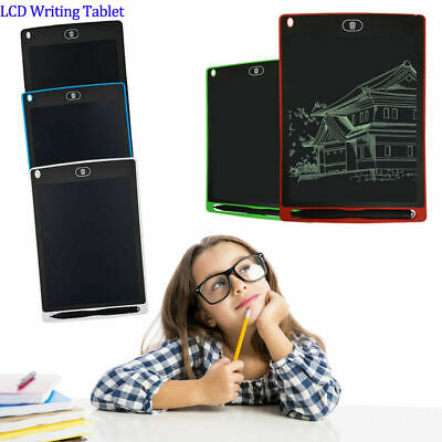 8.5'' inch Digital LCD Writing Drawing Tablet Pad Graphic Boards Notepad PR