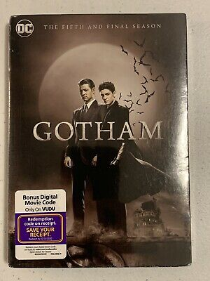 Gotham: The Complete Fifth and Final Season (DC) [New DVD] 3 Pack, Amaray Case
