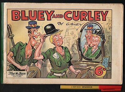 1946 Australian Army soldiers New Guinea to Demobbed BLUEY and CURLY Alex Gurney
