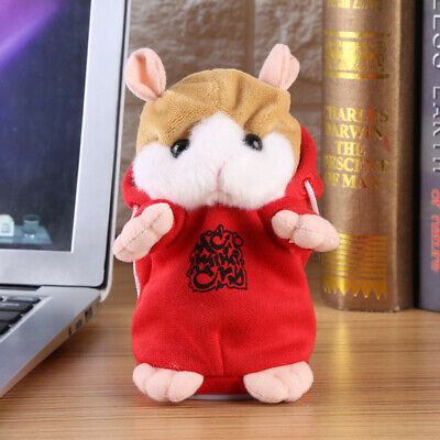 Talking Hamster Electronic Plush Toy Cute Mouse Pet Sound Gift Children Plush