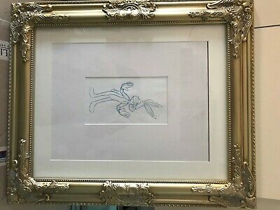 "Genuine Vintage  ""BUGS BUNNY"" ANIMATION PRODUCTION ART PENCIL SKETCH"