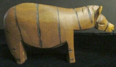 Hand Carved Wooden Animal, Made in Kenya