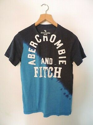 Abercrombie & Fitch T-Shirt Blue Age 13-14 rrp £17 DH004 LL 11