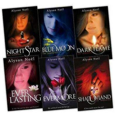 The Immortals Series 6 Books Collection Set NEW