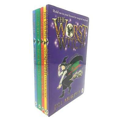 The Worst Witch Collection 5 Books Set Jill Murphy Pack A bad Spell For The ...