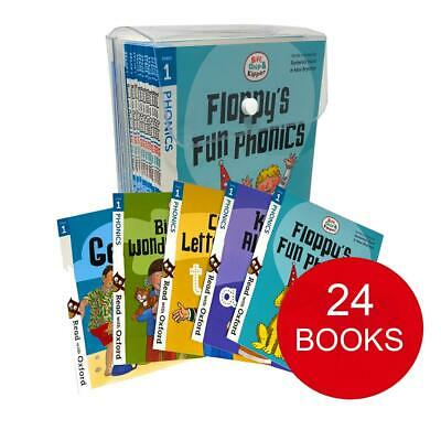 Biff, Chip and Kipper Stage 1 Read with Oxford 3+ (24 Books Collection Set) NEW