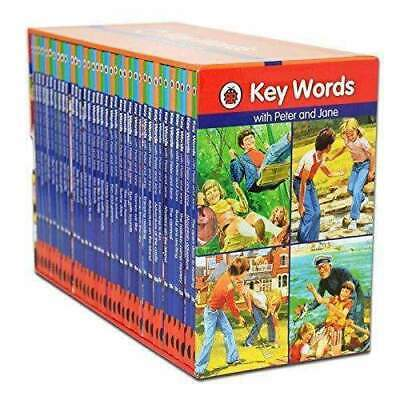Ladybird Key Words With Peter and Jane 36 Books Set Collection NEW