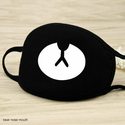 BTS Face Mask Washable Reusable Cotton Mask. Black Color.* Ship from USA*