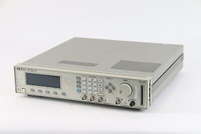 HP Agilent 8110A Pulse Pattern Generator 150 MHz With 81103A, 81106A