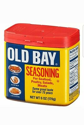 Old Bay Seasoning 6 oz Seafood, Poultry, Salads, Meats