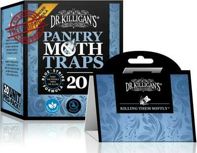 Premium Pantry Moth Traps Sticky Glue Trapping With Pheromones Prime Non Toxic