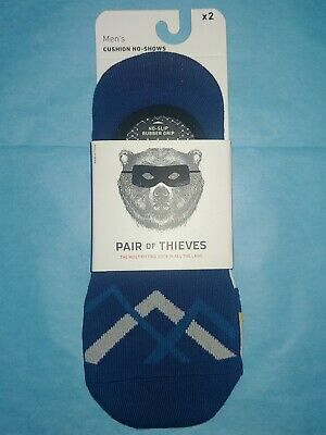 Pair of of Thieves Men/'s Cushion No-Show Socks Size 8-12 Retail $52 8 Pair
