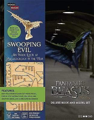 IncrediBuilds - Fantastic Beasts - Swooping Evil: Deluxe model and book set (Har