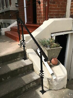 Heavy Duty Wrought Iron Handrail For Stairs