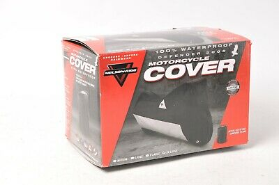 "Nelson-Rigg Defender 2000 Motorcycle Cover Black XXL 2-Extra-Large 127"" x 66"""