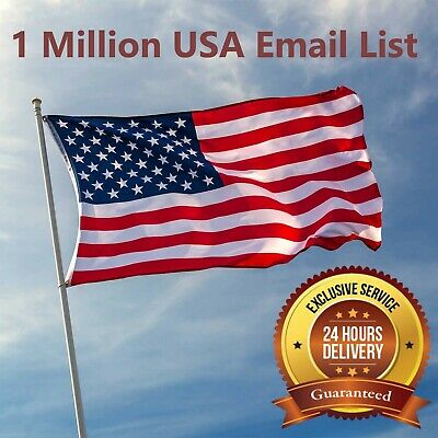 1 Million USA  ✔️✔️ Consumer Email List Sales database ✔️ ✔️