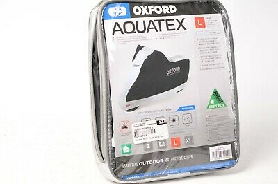 Oxford Aquatex Motorcycle Cover - Large CV204 - Sport Touring Cruiser ADVentrue