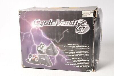NOS CycleVault Motorcycle Cover Large - MLU-002 UNLINED complete protection