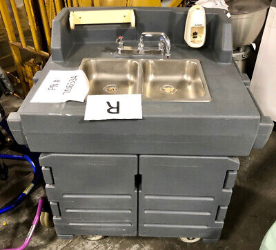 Cambro Portable Sink w/Pump, KSC402, Self-Contained, Hand Washing, Lavatory