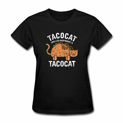 1Tee Mens Tacocat Cat T-Shirt