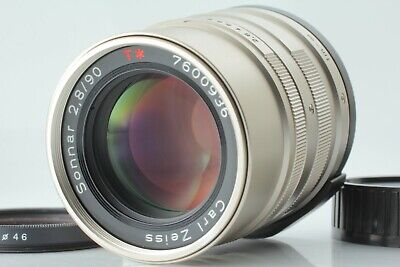 【 NEAR MINT++ 】Contax Carl Zeiss Sonnar 90mm F/2.8 T* Lens for G From Japan #135
