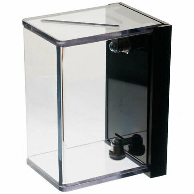 Wall Mount  Tip Box - Clear Polycarbonate - Vertical Tip Box