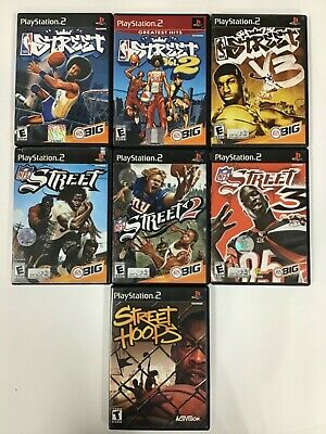 Street Games (PlayStation 2) PS2 TESTED