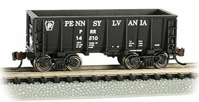 bl Bachmann-Ore Car Pennsylvania Railroad 14510 Ready to Run Flat-Bottom