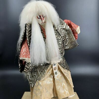 Japanese Traditional Antique Vintage Kabuki doll warrior Samurai Figure 23'MINT!