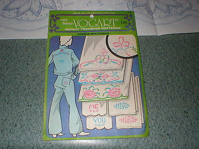 Vogart Transfer Patterns Jacobean Embroidery Or Painting Uncut, Unused