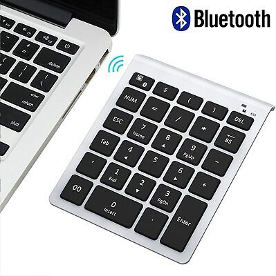 Bluetooth Number Pad, Lekvey Portable Wireless Bluetooth 28-Key Numeric Keypad