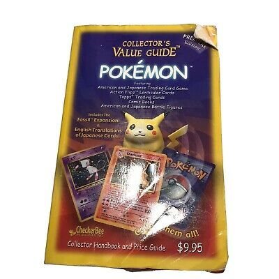 CheckerBee Collectors Value Guide Pokemon Trading Cards And Games Book 1999