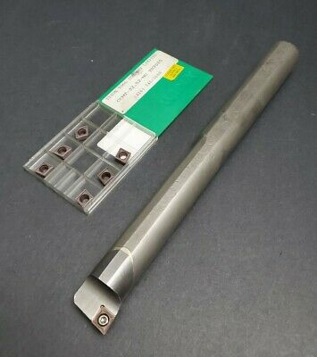 New 1//4 Solid Carbide Boring Bar ABB-180750 TiAlN .180 Minimum Bore