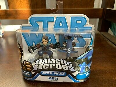 Star Wars New Galactic Heroes Anakin Skywalker STAP Droid gw-4