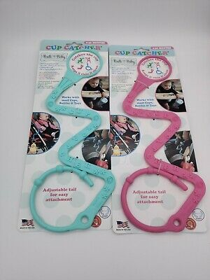 Brilli Baby Cup Catcher in Aqua and Pink