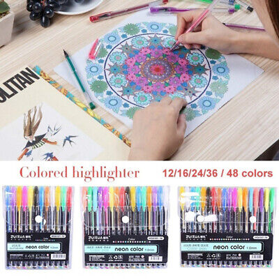 F586 Plastic Comic Pen Highlighter Artist Crayons Multifunctional Colour Pencil