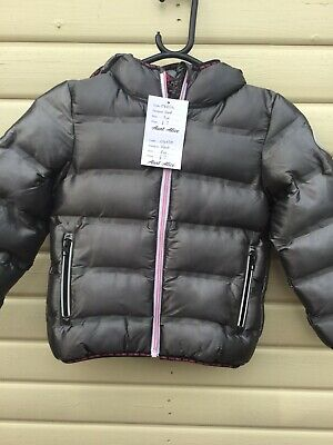 Next Age 5 Years Silver Grey Padded Coat*