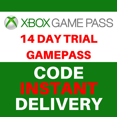Xbox Game Pass 14 Day Trial Membership Code - 2 Weeks - Xbox one - Xbox 360