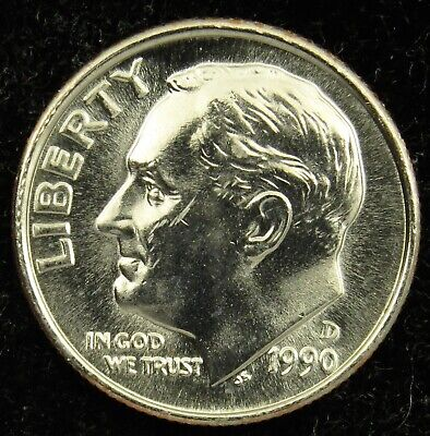 1995 P Roosevelt Uncirculated Dime ~ Raw Coin from Bank Roll