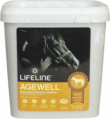 Lifeline Equine Agewell Supplement Mature Horses BioThrive Pellets 15 Pounds