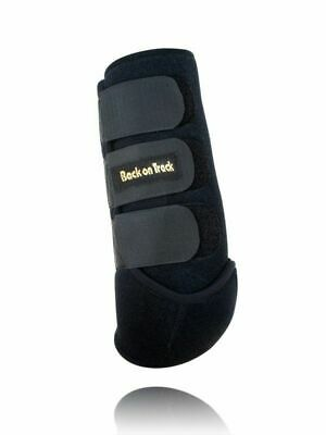 BACK ON TRACK Equine Horse Exercise Boots Heat Therapy Front Pair Large