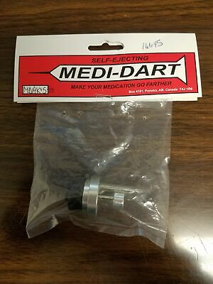 Medi-Dart Replacement Short Plastic Nut Only Medicate Livestock Cattle Bull MDSN