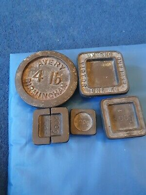 cast iron weights 4lb avery .one Victor kg