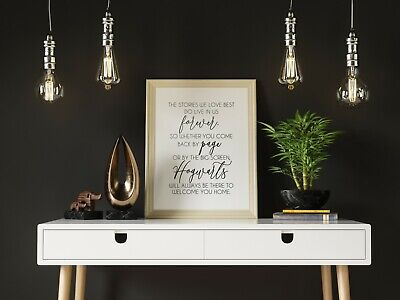 Harry Potter Quote Poster Print | J.K. Rowling | Gift Ideas | Typography