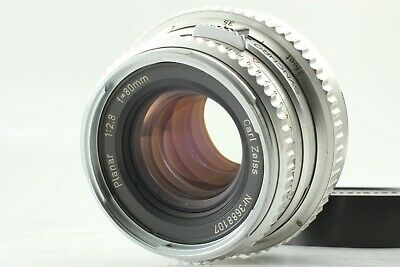【Mint】 Hasselblad Carl Zeiss Planar C 80mm F/2.8 Lens Chrome From JAPAN #8104