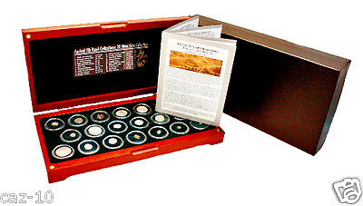 Ancient Silk Road 20 Silver  Coin Collection in Beautiful Presentation Box